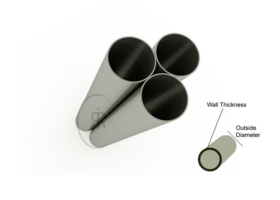 aluminium round tube 25mm 38mm 50mm 75mm 100mm diameters many lengths ebay. Black Bedroom Furniture Sets. Home Design Ideas