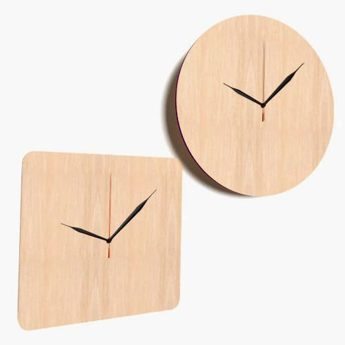 wooden craft shapes wooden large clock shapes tags blank decoration plaque 3257