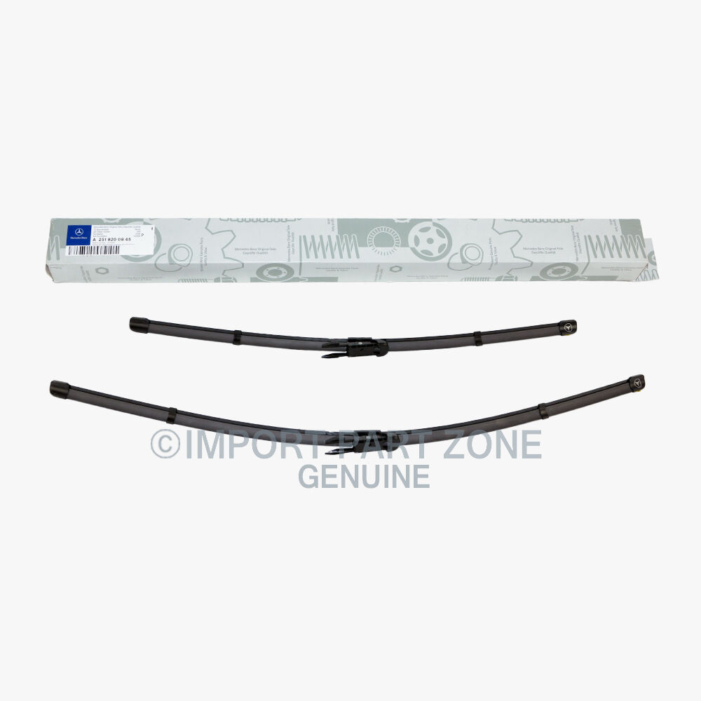 Mercedes benz wiper blades blade set genuine original for Mercedes benz windshield wiper blades