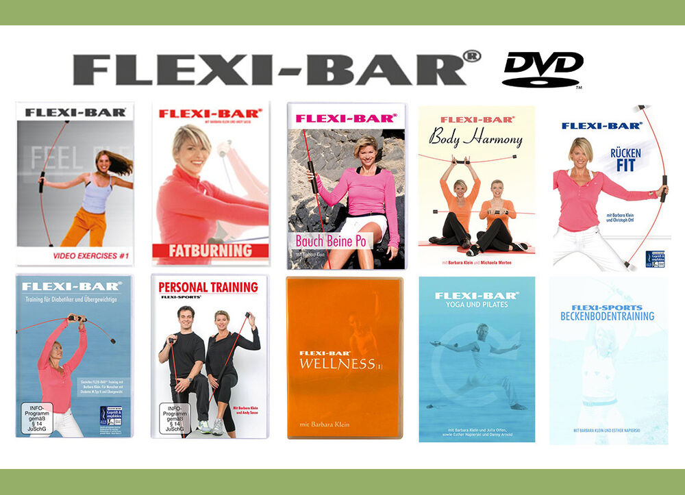 original flexi bar schwingstab dvd 39 s riesenauswahl auf lager neu ovp ebay. Black Bedroom Furniture Sets. Home Design Ideas