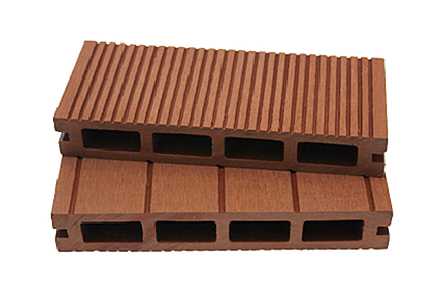 Wood plastic composite decking board 150mm x 25mm x for Non slip composite decking