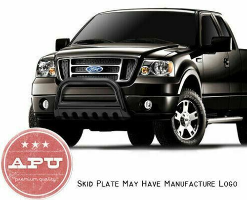 Fits 2017 Ford F150 F 150 Black Bull Bar Grille Crash Brush Per Guard Ebay