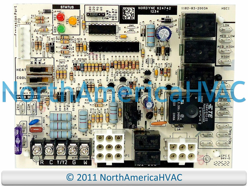624742 intertherm miller nordyne tappan gibson furnace circuit board ebay