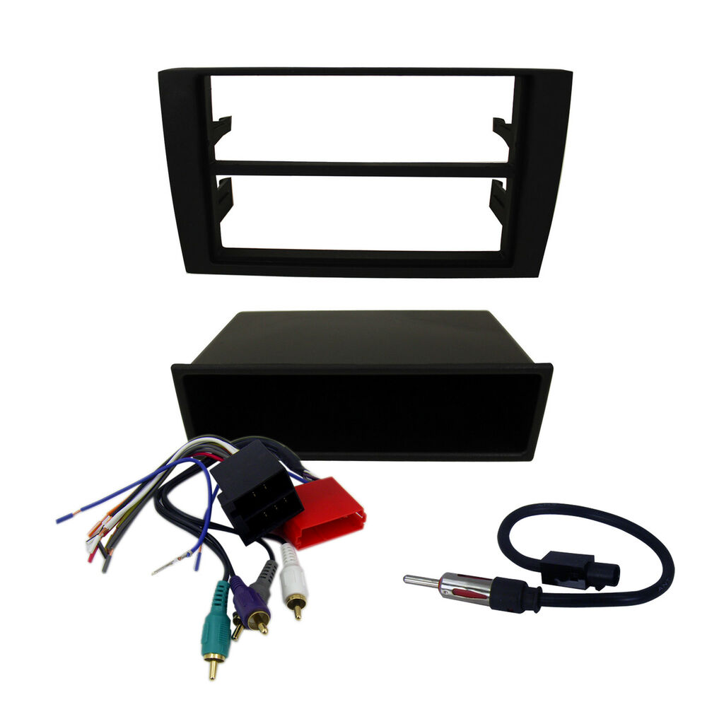 Aftermarket Double Din Radio Mount W Wires Audi A4 Car Stereo With Complete Installation Dash Kit Wiring Harness Ebay Install