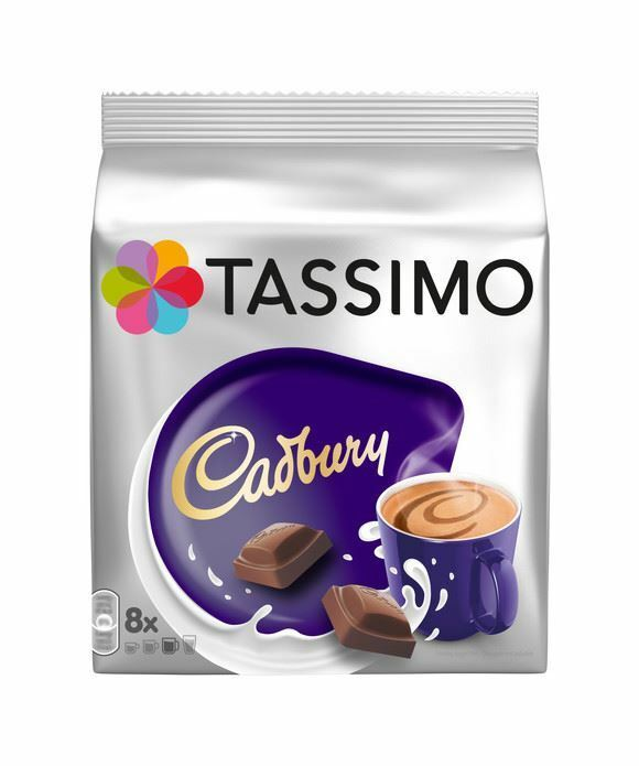 tassimo cadbury hot chocolate pods capsules 8 t discs 8 servings ebay. Black Bedroom Furniture Sets. Home Design Ideas