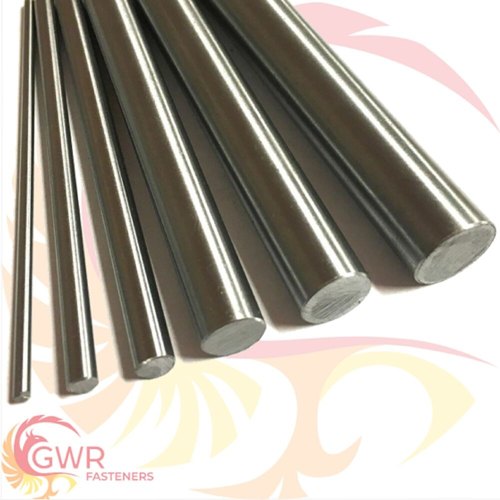 Silver steel round bar rod quot