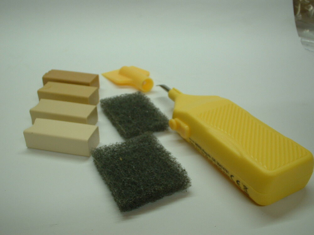 Ceramic Amp Vinyl Tiles Repair Kit For Cream Stone Light
