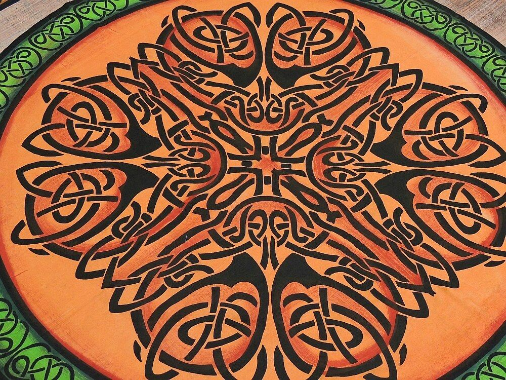 Celtic Knot Bed Sheets