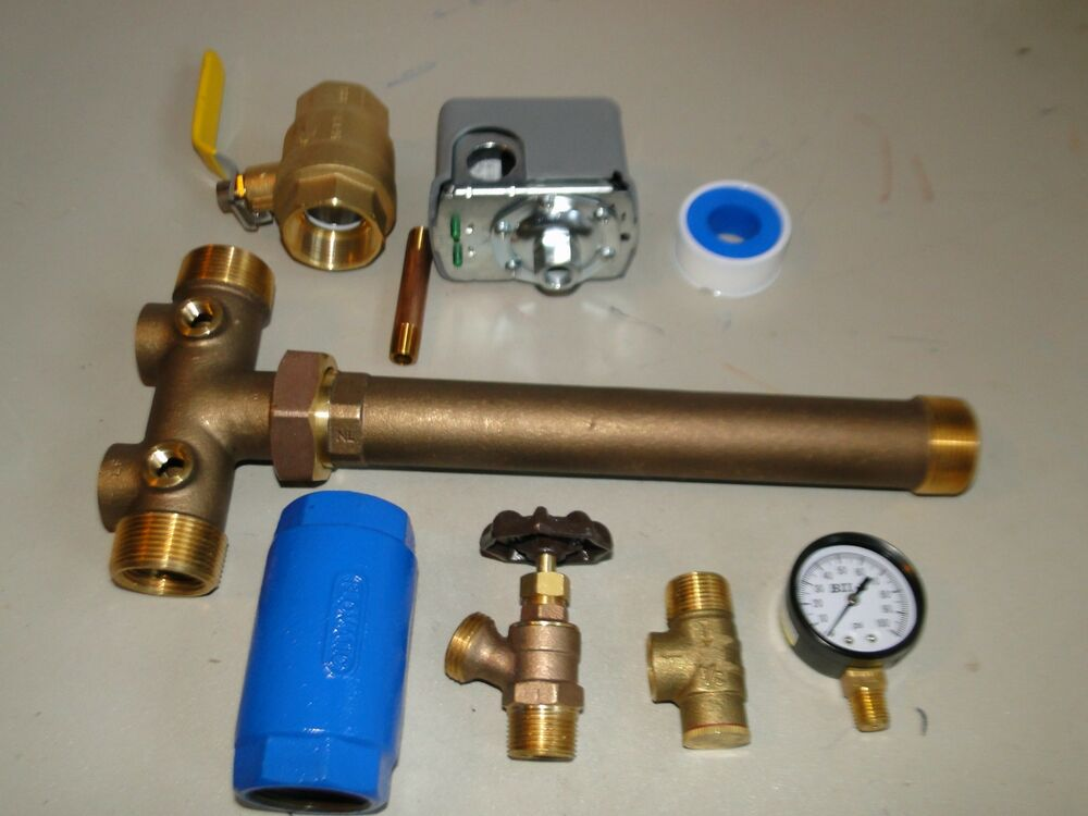 hook up water well pressure tank Install a submersible pump: 6 lessons for  submersibles push water up and into a pressure tank in the house  what gauge of wire is used to hook up well .