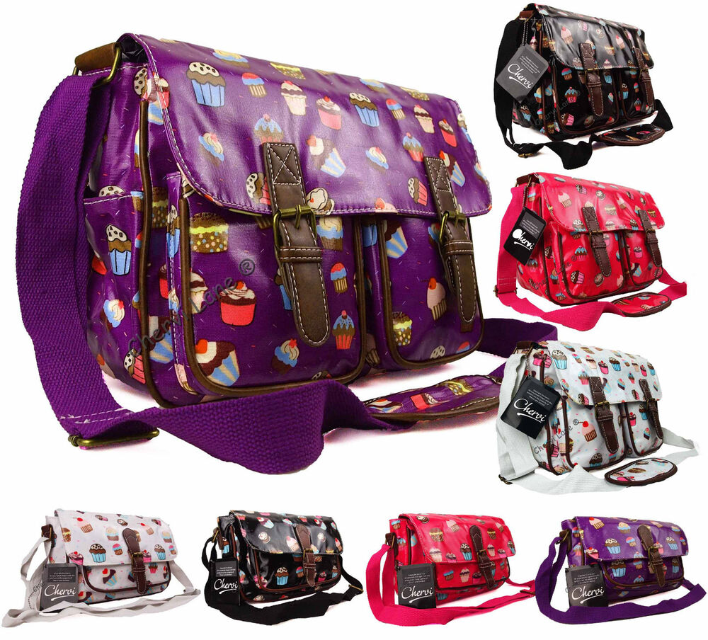 Girls? satchel bags are sometimes relatively small and are intended for use as hand bags. These come in many different types of design and style, one of the most popular being the?retro? style reflecting the fun of a bygone age.