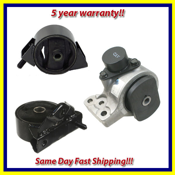 2000 Hyundai Elantra Parts: Engine Motor Mount Set 3PCS For 1999-2000 Hyundai Elantra