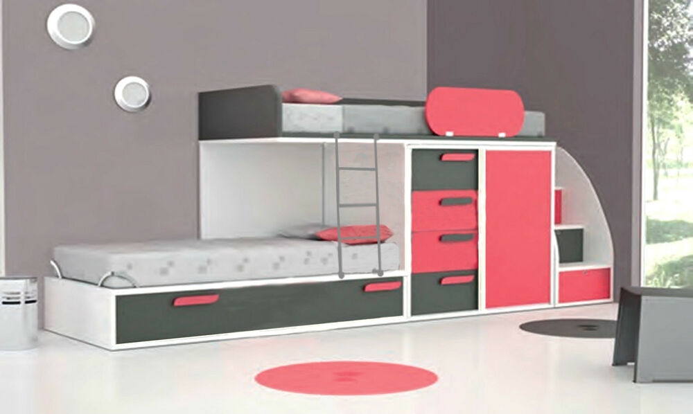 kinderzimmer spielzimmer hochbett jugendzimmer frei. Black Bedroom Furniture Sets. Home Design Ideas