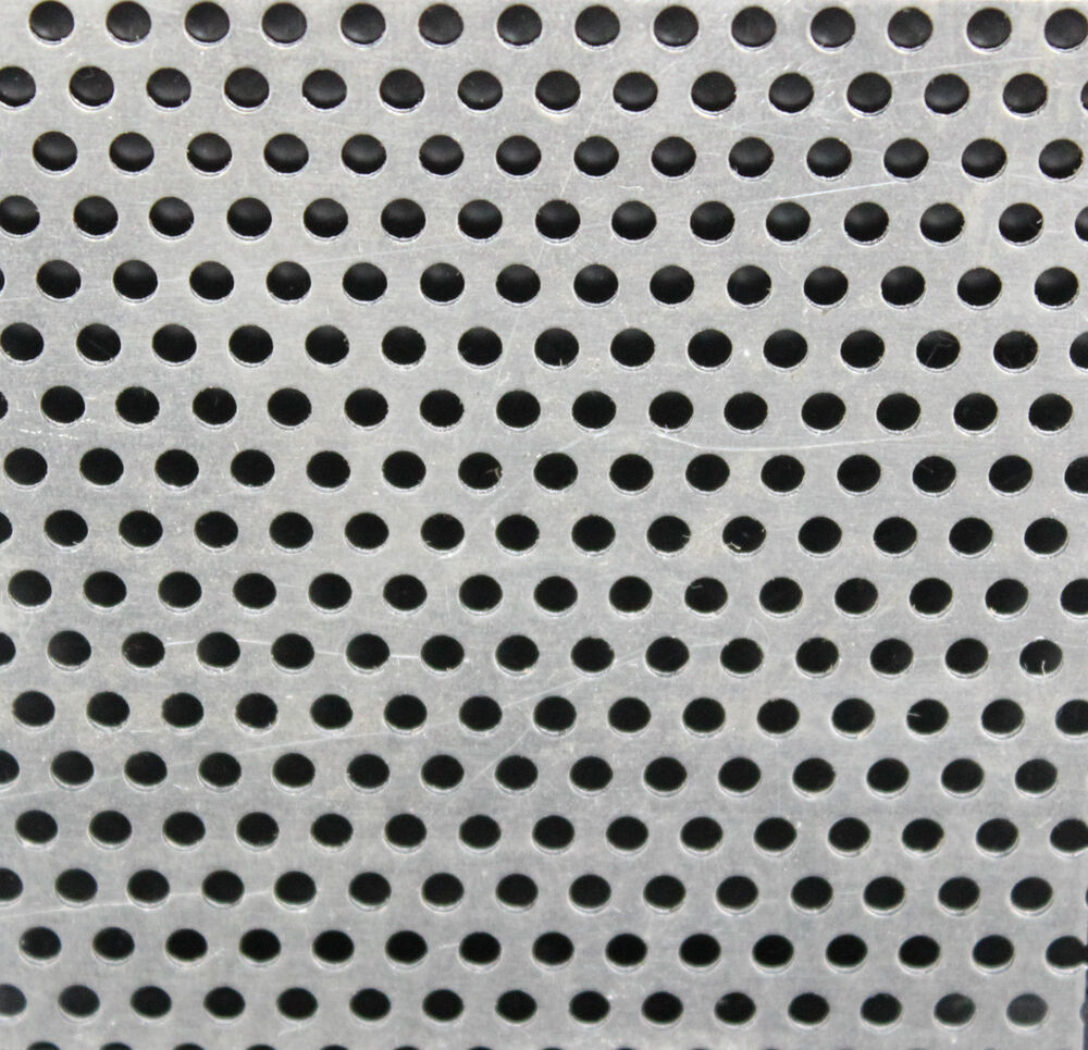 1 0 304 Perforated Stainless Steel Sheet 3 Mm Holes 5 Mm