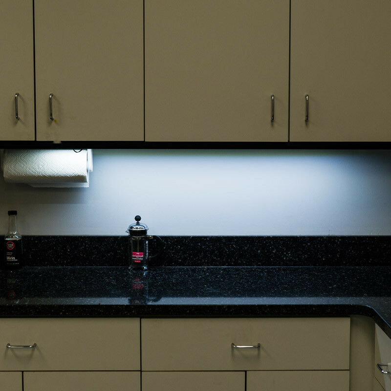 Over Cabinet Lighting For Kitchens: Kitchen Above Cabinet Shelf Accent Professional Lighting