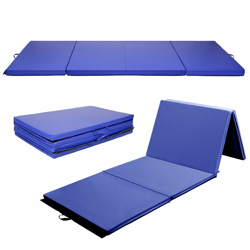 "Goplus 4'x10'x2"" Gymnastics Mat Gym Folding Exercise Mats"