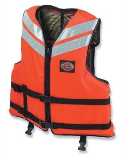 STEARNS I460ORG-06-000F Work Boat Vest (2XL)
