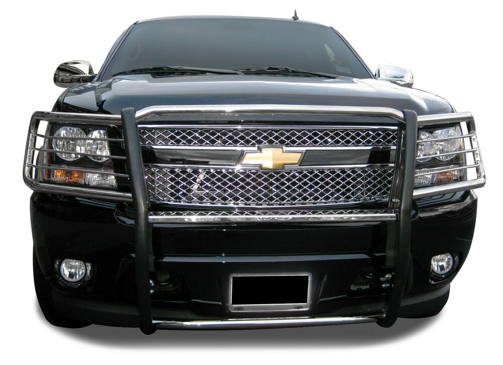07 14 Tahoe Suburban Avalanche Grille Bumper Brush Guard
