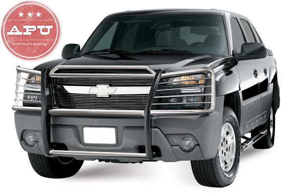 Chevy Avalanche Brush Guard 02-06 Chevy Avalanche w/ Cladding Grille Bumper Brush Guard Push Bar ...