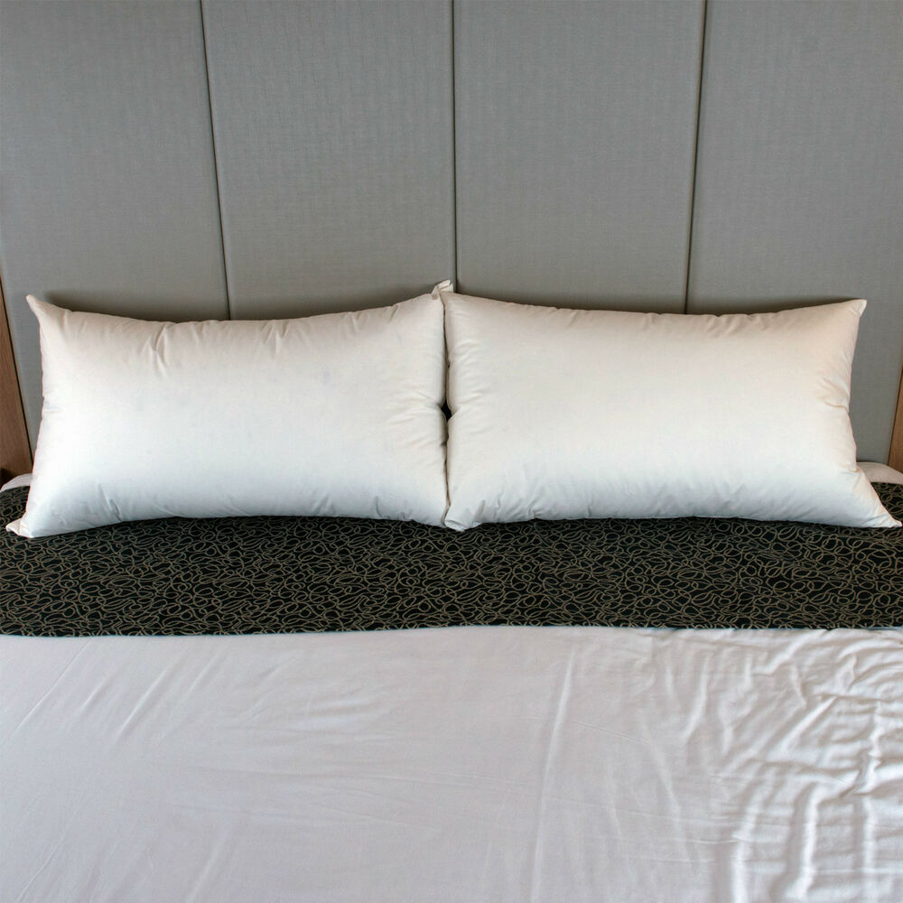Dyne King Size 100 German Duck Feather Pillow Soft
