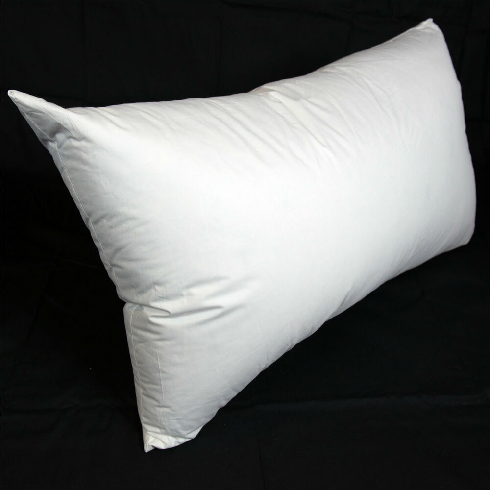 dyne king size goose down surround pillow firm support australian made ebay. Black Bedroom Furniture Sets. Home Design Ideas