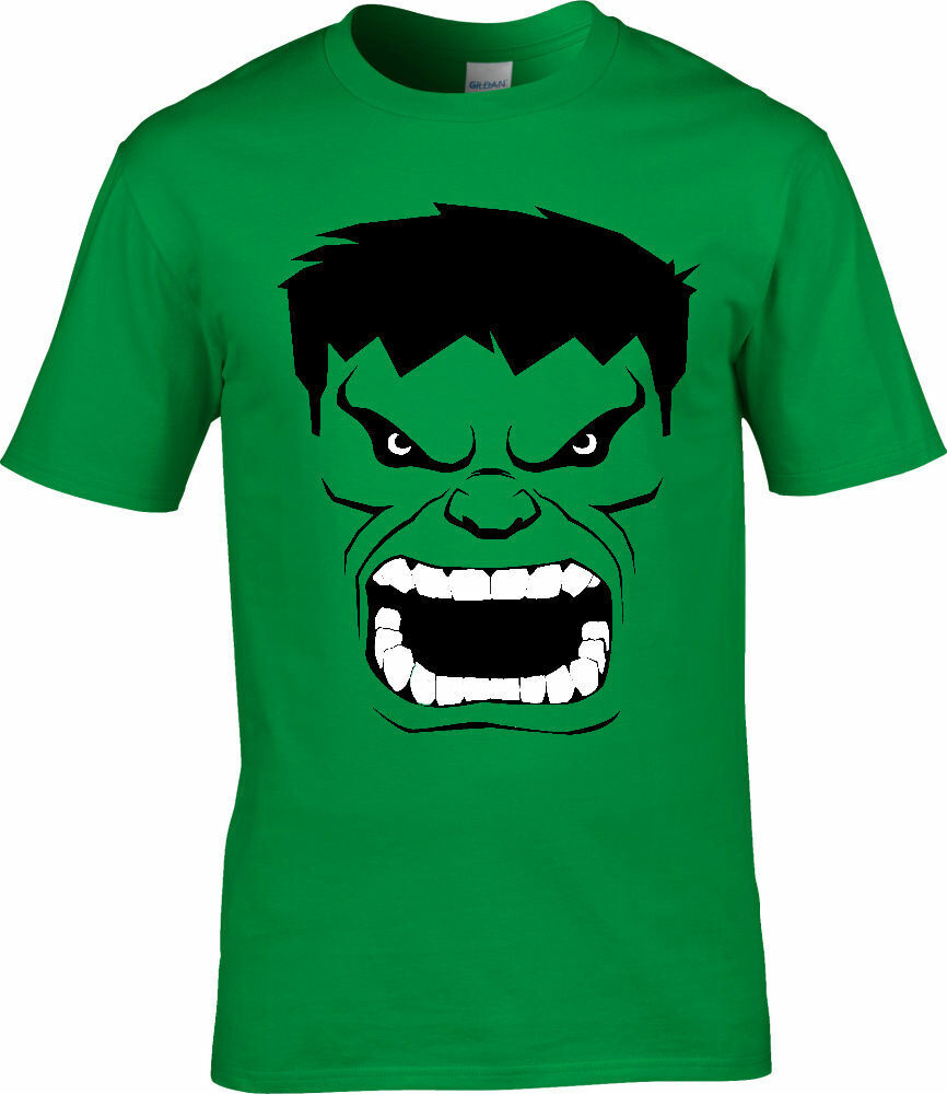 The hulk avengers marvel comics superhero kids t shirt Boys superhero t shirts