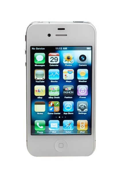 iphone for life sprint apple iphone 4 8gb white sprint smartphone 15268