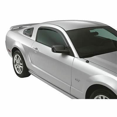 For Ford Mustang 92513 Window Vents Visors 2 Each Trim