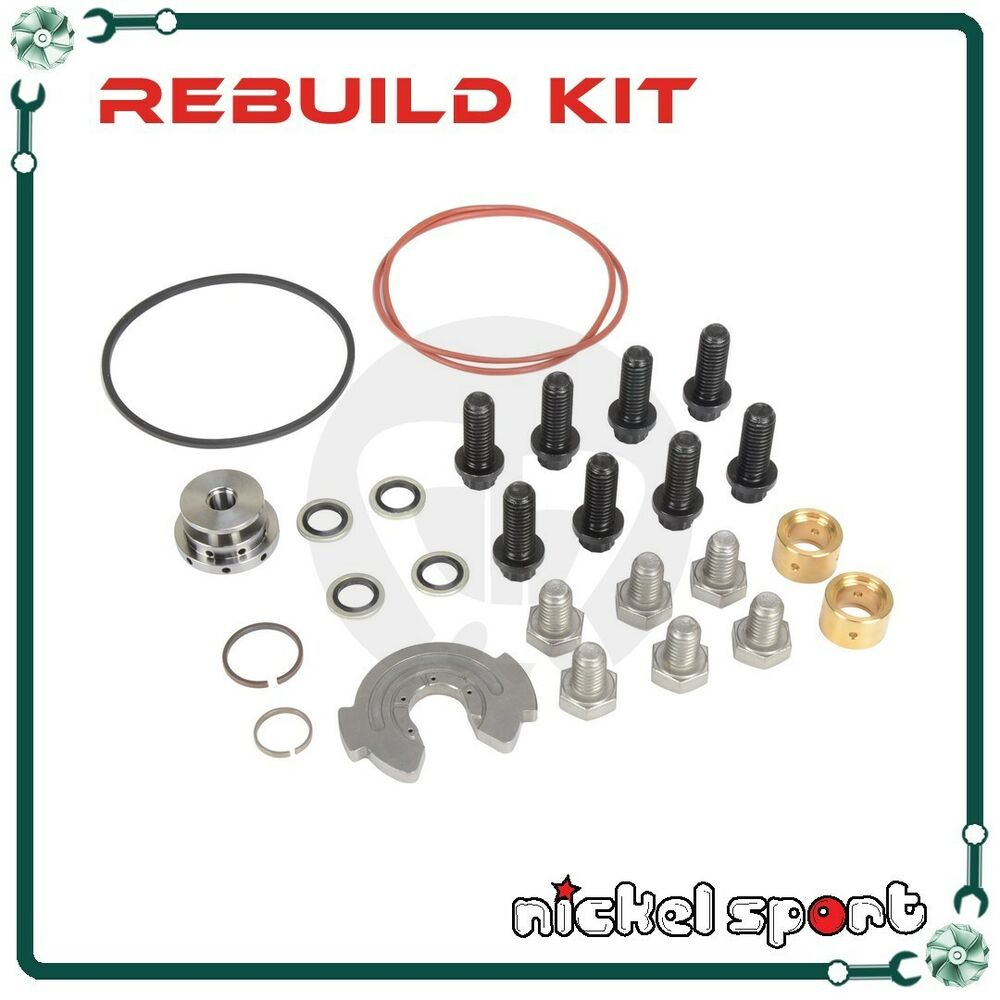 Garrett Turbocharger Rebuild Kits: GARRETT GT30 GT32 GT35 Turbo On John Deere Scania H Y