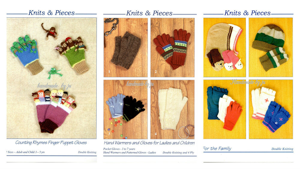 Finger Knitting Rhyme : Knits pieces hats hand warmers gloves or counting rhymes