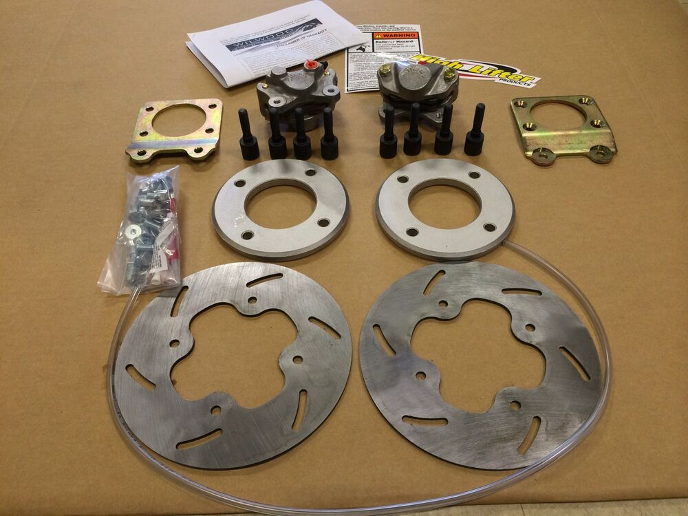 Honda Trx500 Rubicon Atv 2000 04 High Lifter Front Disc