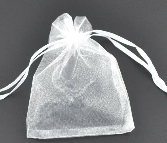 Wholesale HOT! Organza Bags Wedding Gift White Drawable 16x13cm eBay