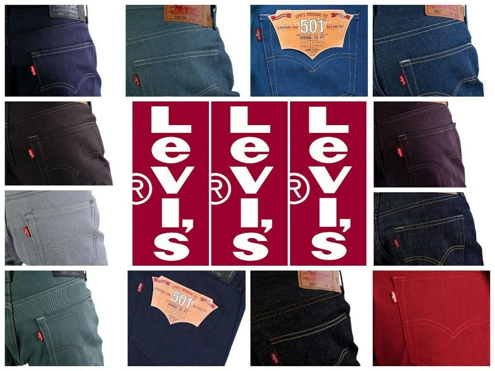 Levis 501 Brown: Jeans | eBay