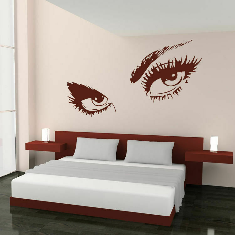 Audrey Hepburn Beautiful Sexy Eyes Wall Art Sticker Decal