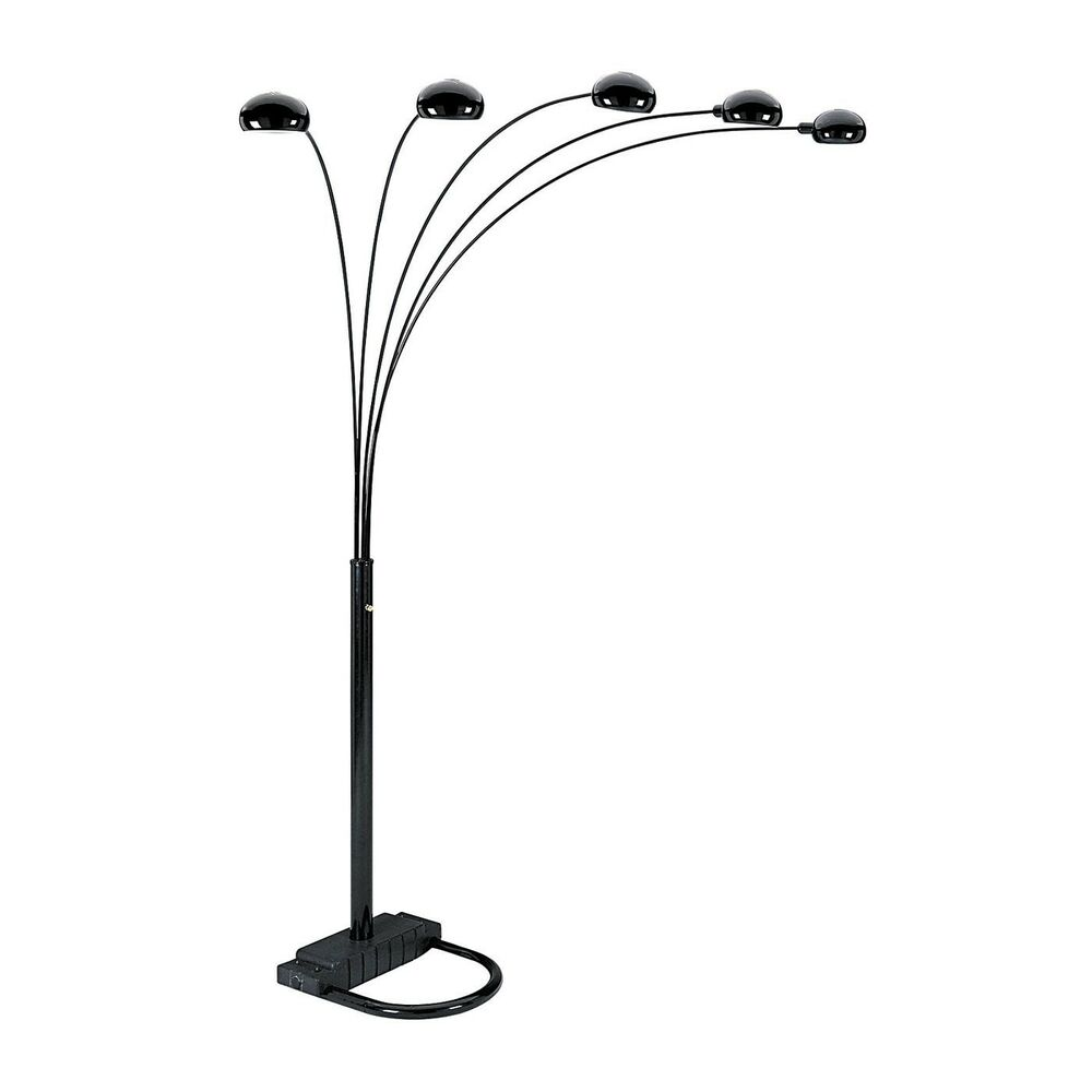 ore international 6962 five arms arch floor lamp ebay. Black Bedroom Furniture Sets. Home Design Ideas