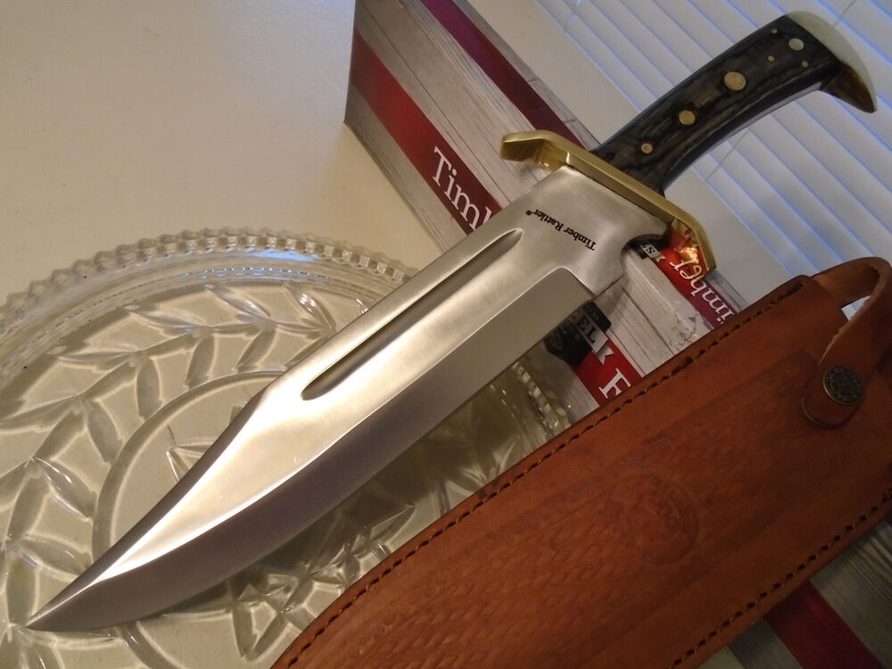 Timber Rattler Western Outlaw Tr65 Bowie Hunters Combat