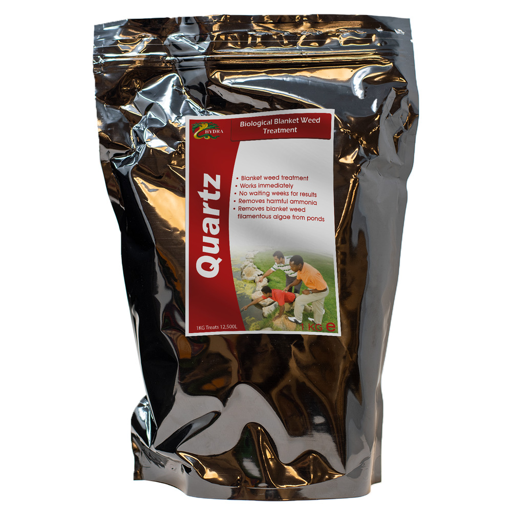 Remove slime and green string algae hydra quartz 1kg pond for Koi pond removal