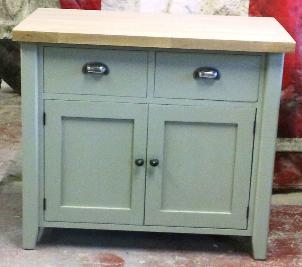 Painted Free Standing Kitchen Double Cupboard Unit