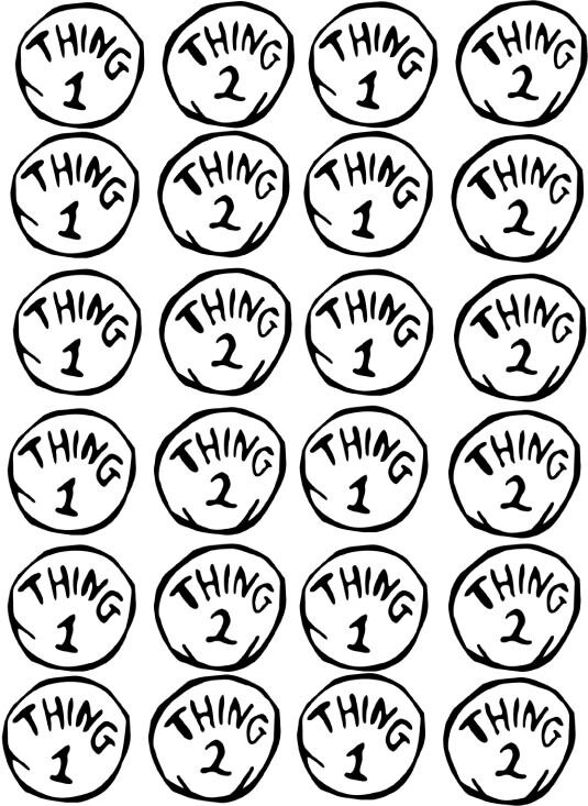 1000 images about seuss on pinterest auto electrical wiring diagramthing 1 u0026 thing 2 cat in the hat dr seuss edible cupcake