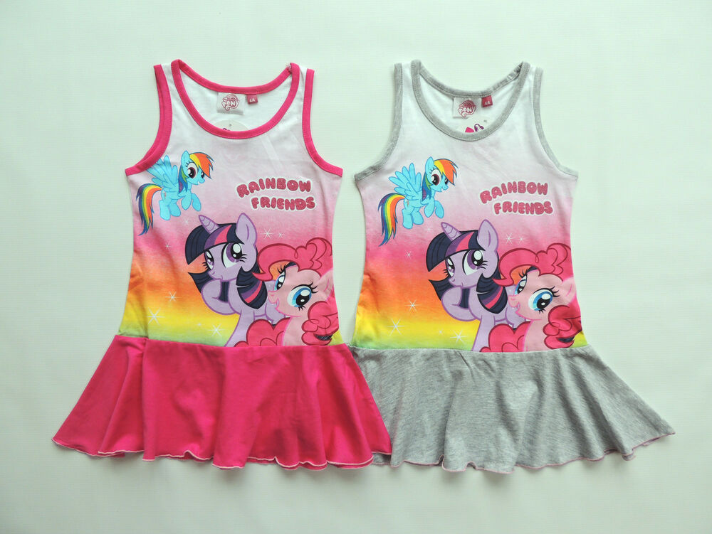 my little pony m dchen kleid strandkleid gr 98 104 110 116 122 128 ebay. Black Bedroom Furniture Sets. Home Design Ideas
