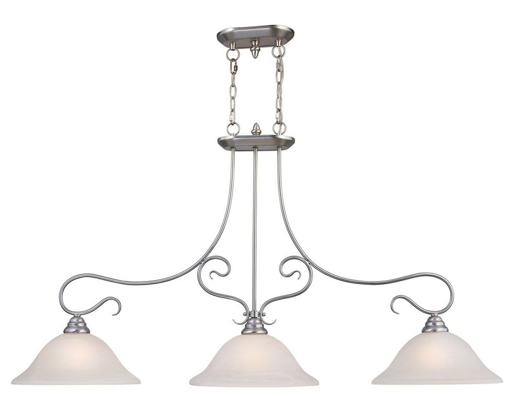 light livex brushed nickel coronado kitchen island lighting fixture