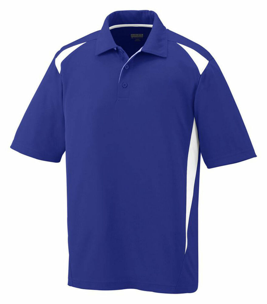 Augusta Sportswear Men 39 S Moisture Wicking Three Button