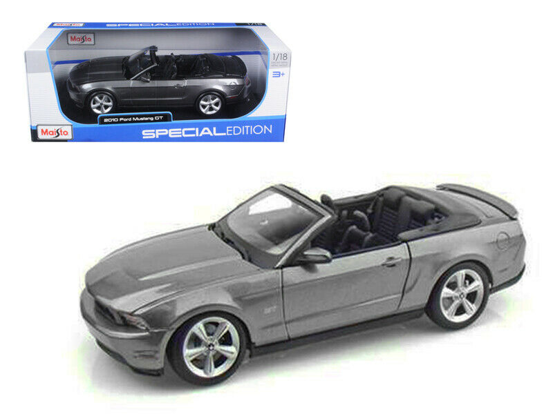 2011 ford mustang gt grey maisto diecast car collection model 1 24 1 24 ebay. Black Bedroom Furniture Sets. Home Design Ideas