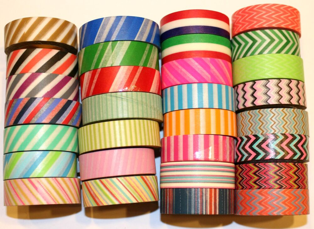 Washi tape designer 15mmx10m roll decorative sticky paper for Decorative paper rolls