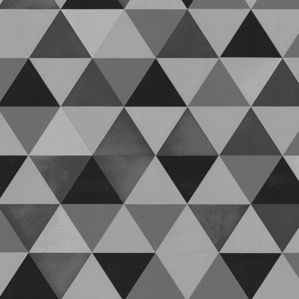 Graphics Alive Modern Geometric Triangles Black And Grey