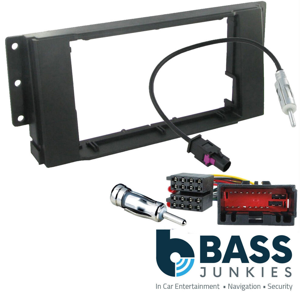 Ct24lr04 Landrover Discovery 3 2005 On Car Stereo Double Din Fascia Mazda Cd Fitting Kit Wiring Loom Ebay