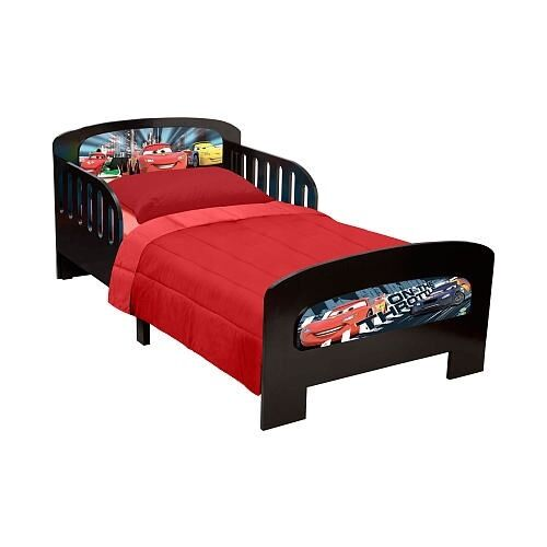 disney cars lightning mcqueen twin bed local pick up only. Black Bedroom Furniture Sets. Home Design Ideas