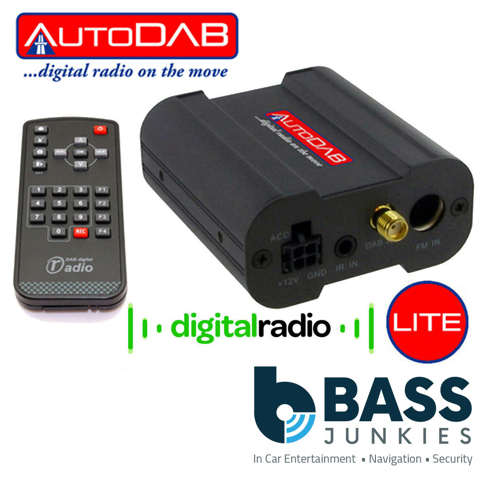 autodab lite universal car stereo add on dab dab receiver. Black Bedroom Furniture Sets. Home Design Ideas
