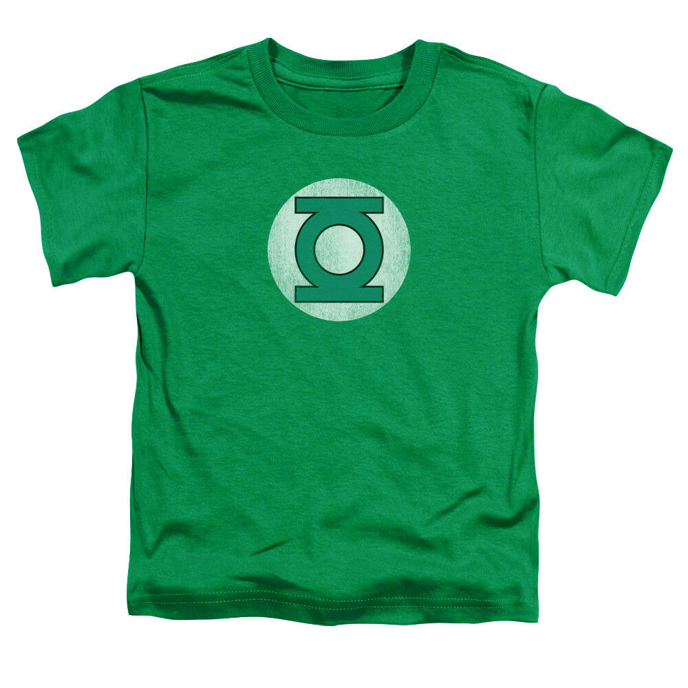 Green Lantern Logo Distressed Super Hero Little Boys T: boys superhero t shirts