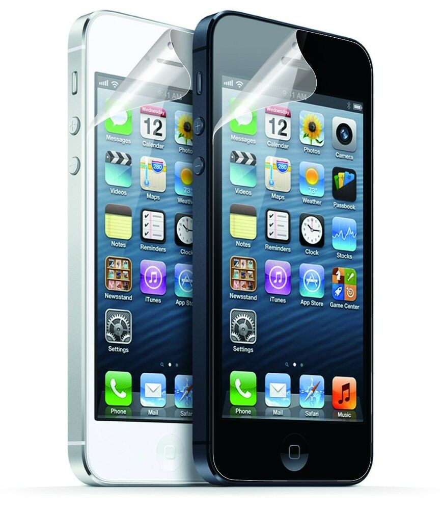 iphone 5s screen 5x pack clear screen protector fr apple iphone 5 5s 5c ebay 1332
