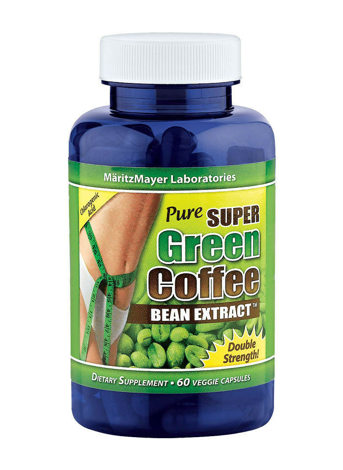 Pure SUPER Green Coffee Bean Extract Weight Loss 800 mg ...
